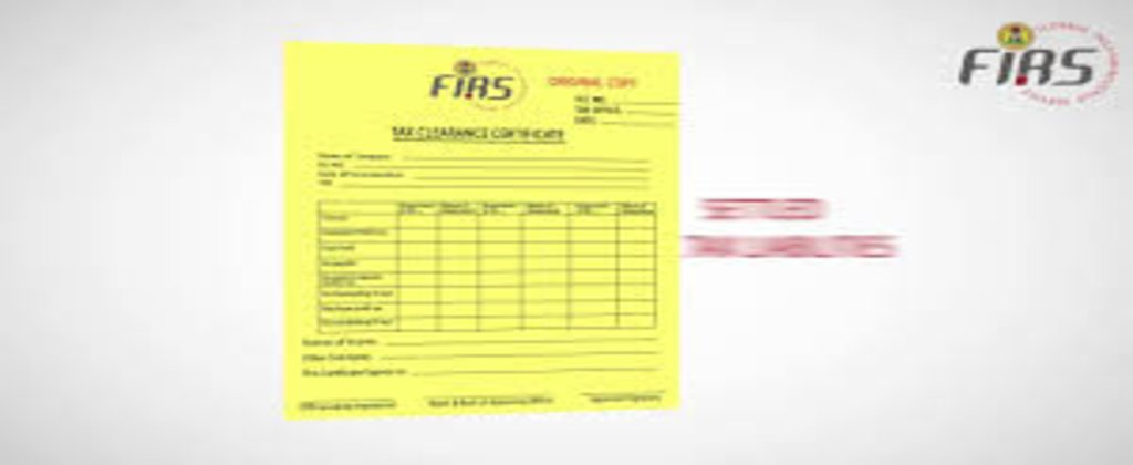 HOW TO OBTAIN TAX CLEARANCE CERTIFICATE IN NIGERIA