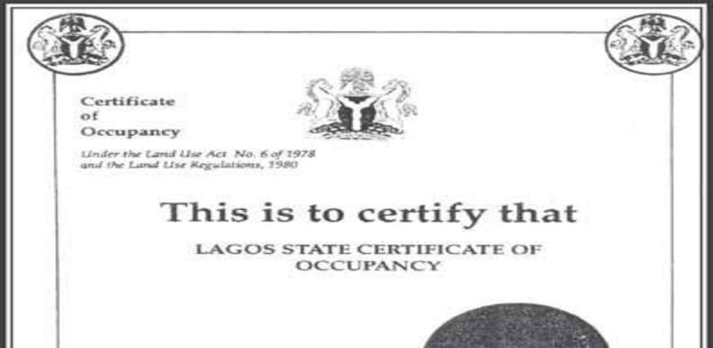 DIFFERENCE BETWEEN CERTIFICATE OF OCCUPANCY AND DEED OF ASSIGNMENT IN NIGERIA